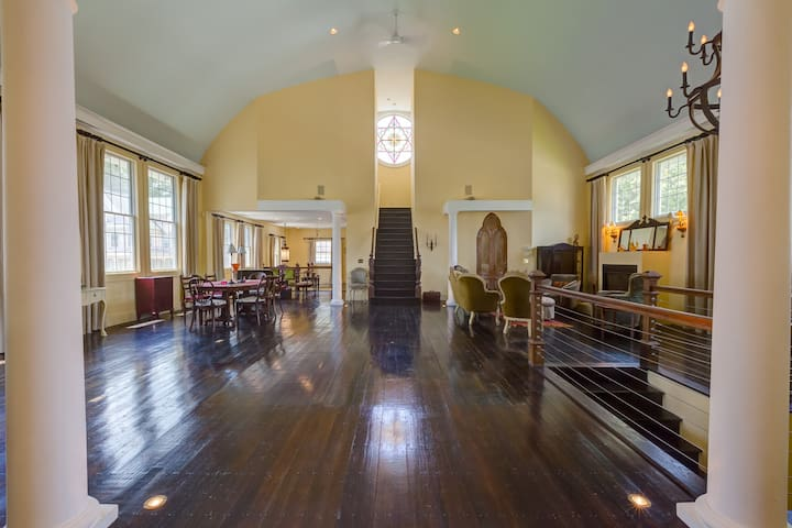 Fabulous Huge Unique Renovated Church - 4bd/3.5 ba - Easton - Apartment