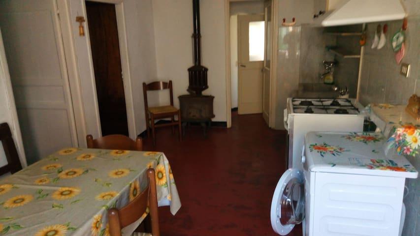 Appartamento in Valbrevenna. - Molino Vecchio-Scapitola-b - Departamento