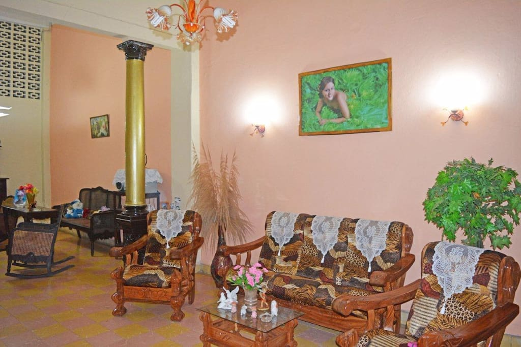 Large house built in the previous century with a colonial architectural style.