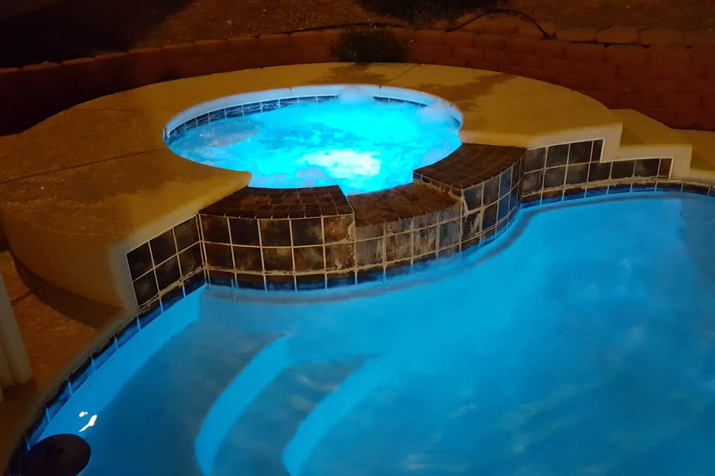 Heated/Lighted Pool and Spa!