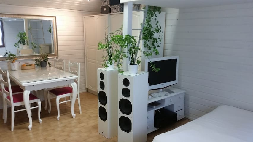 Cozy woodhouse flat - Turku - Apartemen