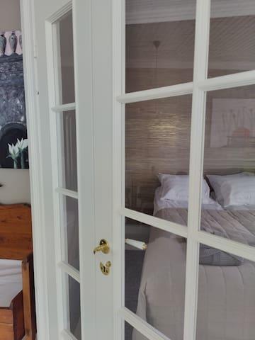 Lockable bedroom