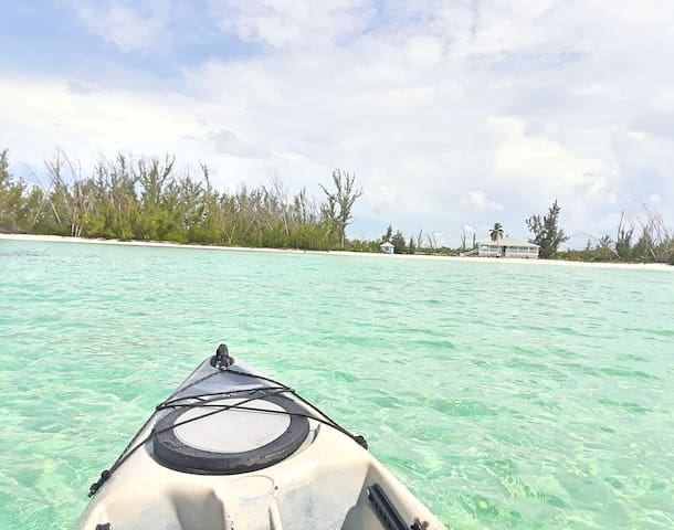 Kayaking is so much fun!