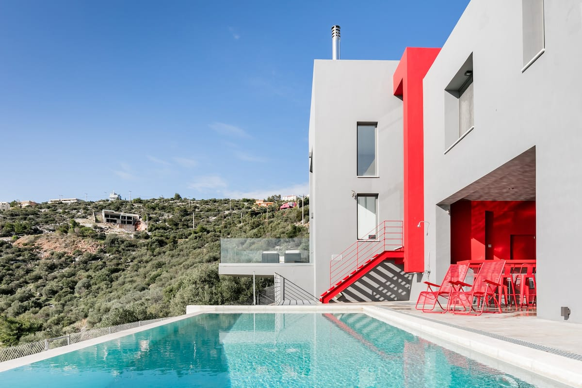 Discover a Peaceful Getaway at the Red Grey Sea View Villa