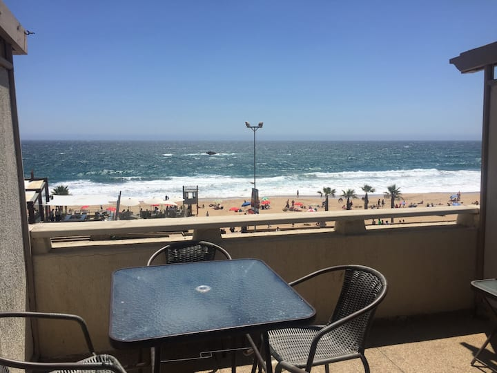Dpto frente al mar mejor sector de Reñaca