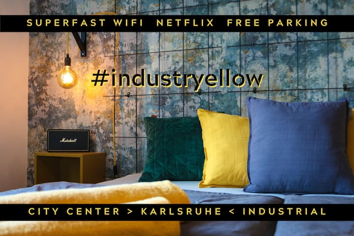 #industryellow #central #kingsize #wifi #netflix