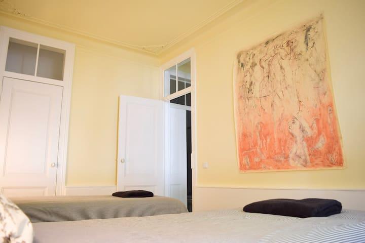 Quarto individual   Twin room