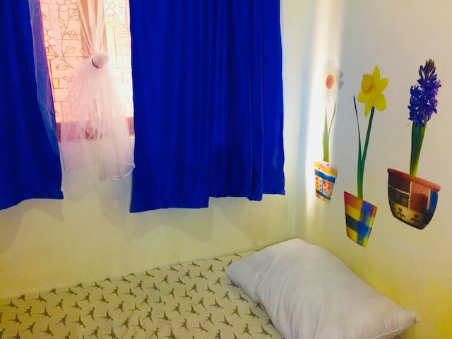 A backpackers room for a very affordable price