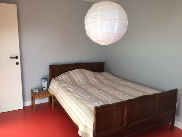 chambre chez l'habitant pour location long terme - Gembloux - Hus