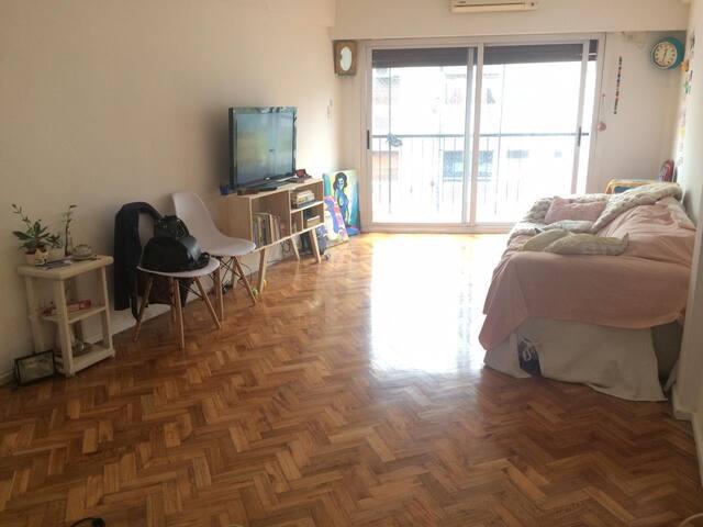 Habitación privada en 8vo piso. Las cañitas