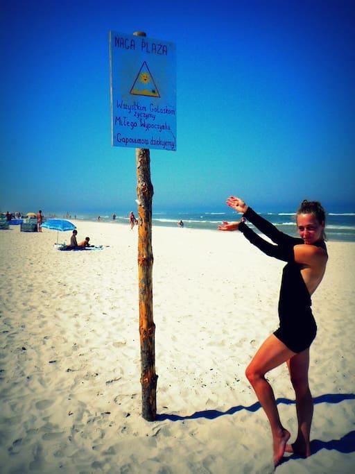 atrakcje: plaża naturystów
