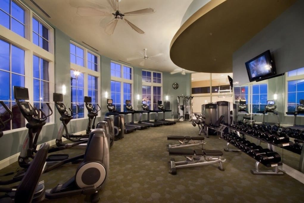 Gym with many features