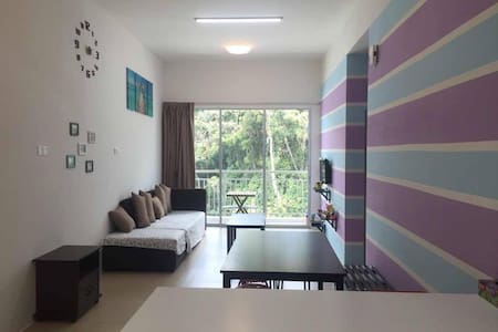 Purple Blue Homestay @Golden Hills - Brinchang - Apartment