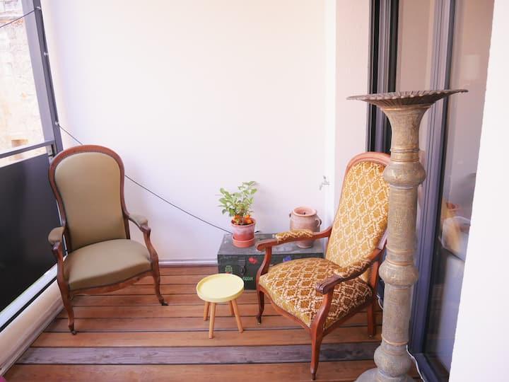 Charmant appartement au cœur des Chartrons