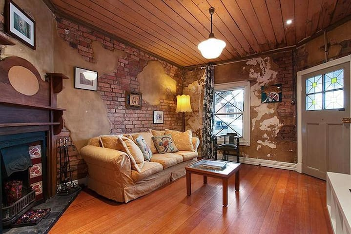 Lovely Georgian Cottage in central location - Brunswick East - Hus