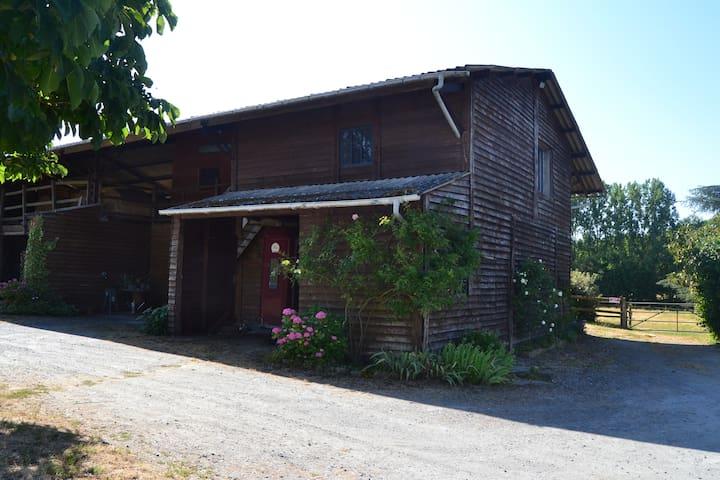 Le studio de la grange
