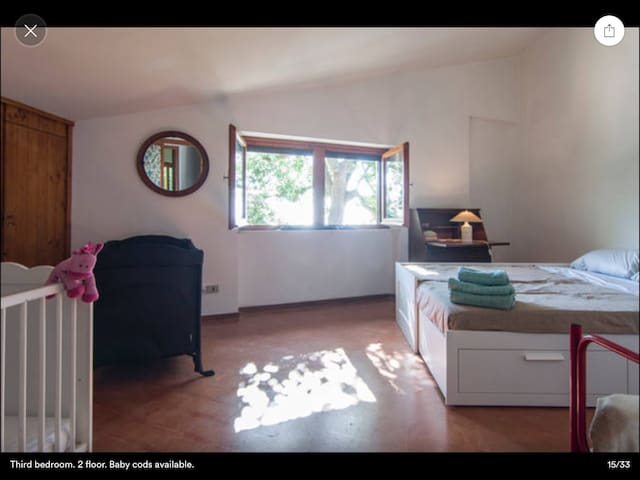 In Conero park, double and baby bed - Sirolo - Huis