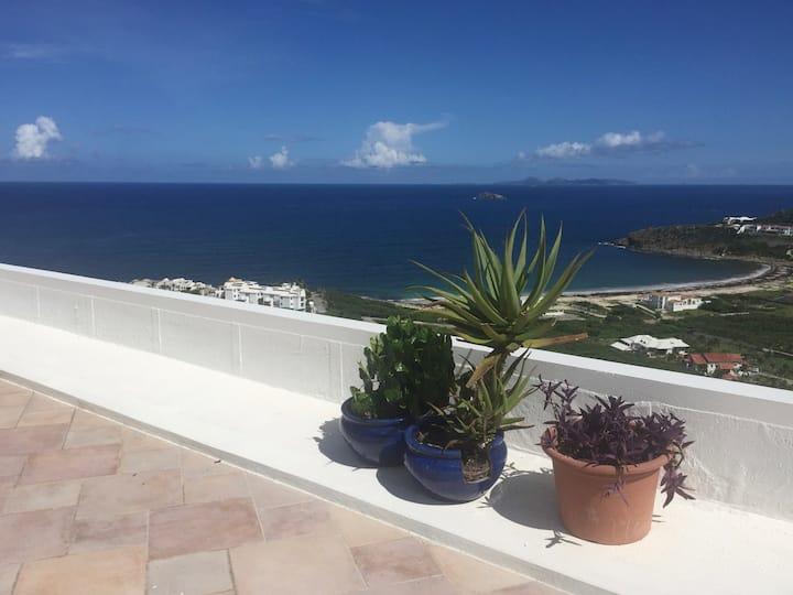 Guana Bay Hillside Condo with stunning views