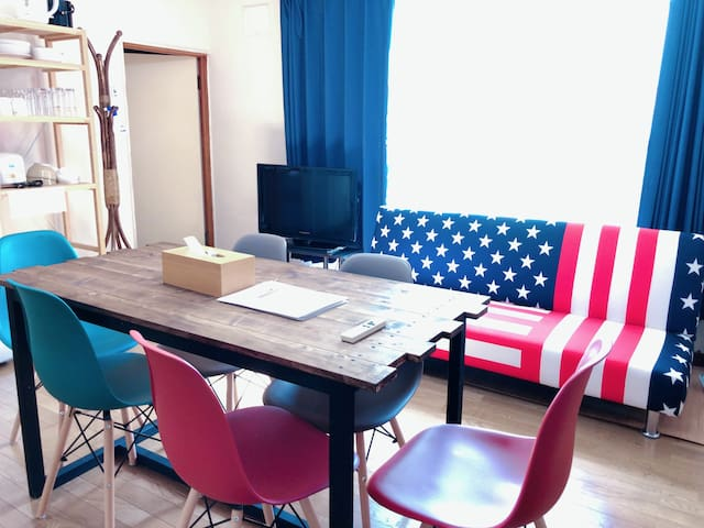 3BR No share!FREE parking space  One& FREE Wi-Fi
