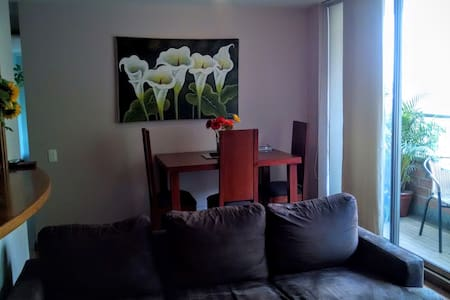 Your Private 2BR Apartment in Poblado - Медельин - Квартира