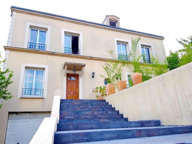 Villa luxueuse 13 personnes 350 m2 proche paris