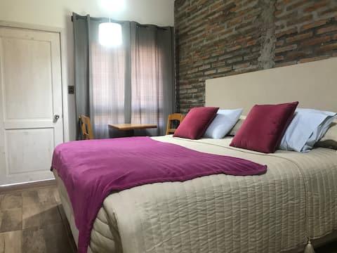 Apartamento 1 ambiente con cama King