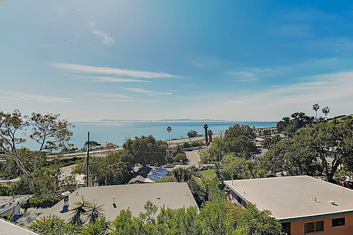 Breezy Summerland Home with Great View, Near Beach