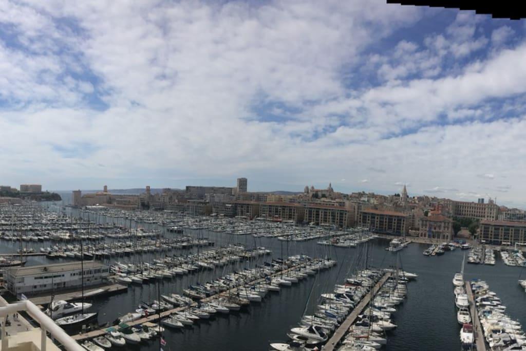 Une vue 360° de Marseille