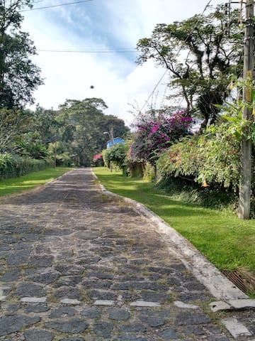 Cuarto privado en Briones gran casa con jardín. - Coatepec - Gastsuite