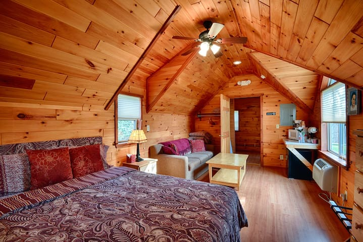 #04 Hand Hewn Log Cottage ~ Handicapped Accessible