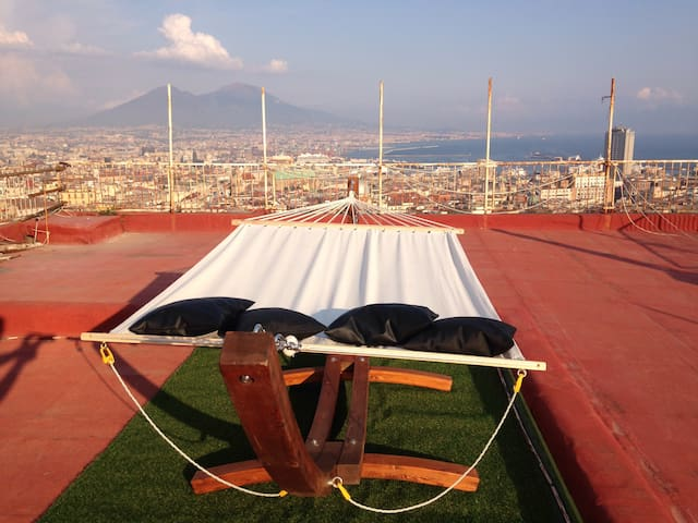 Mega Rooftop in Centre - Napoli - Appartement