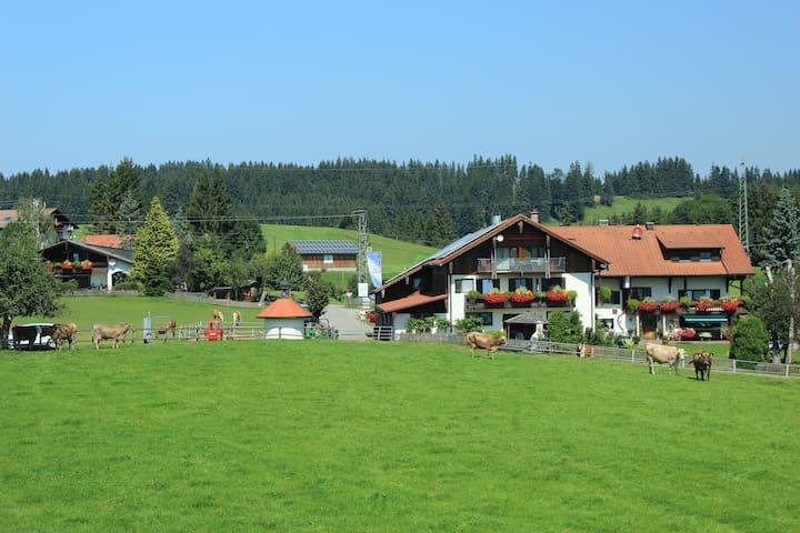 Ferienwohnung im Allgäu - Nesselwang