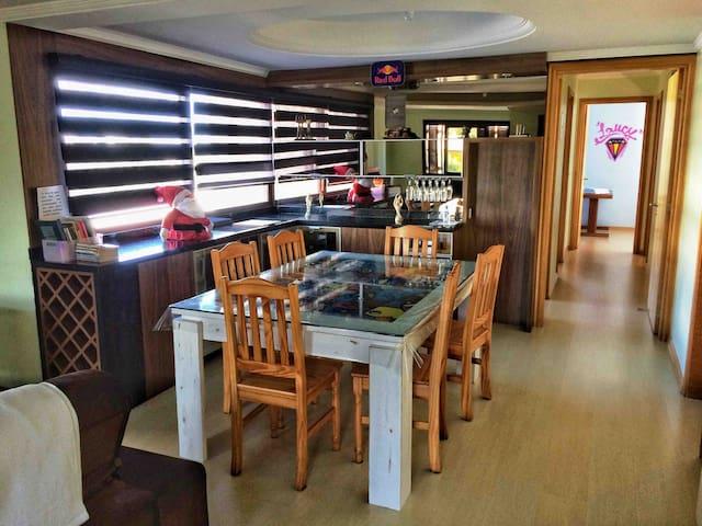 sala jantar/corredor apto