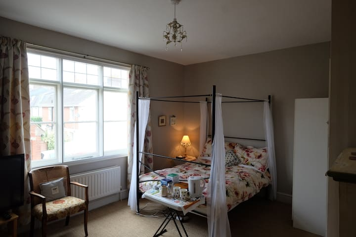 Large comfortable bedroom