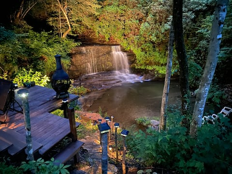 Your Own PRIVATE Waterfall Getaway