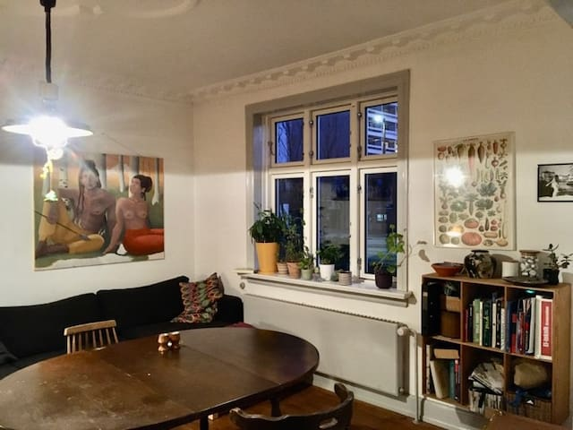 Spacious private double room close to CPH