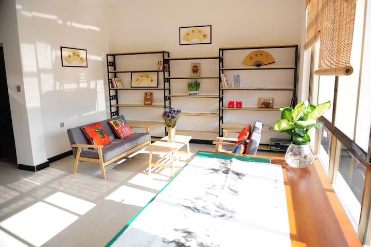 【建水古城附近】二室一厅墨香书吧套房