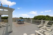 Rooftop Deck, With Pool Table, Oceanview