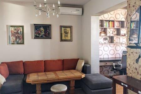 Art apartment with Ararat view