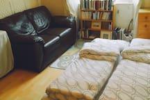Studio-like living room