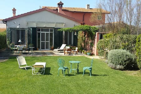 GREAT COTTAGE-HUGE GARDEN+SEA (3km)+THERMAL BATHS