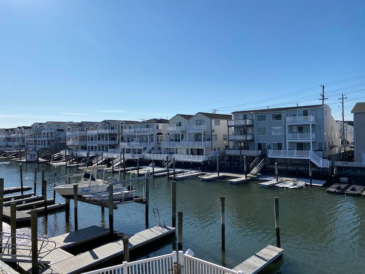 Sea Isle City - 2nd Floor Bay Front (Best View)