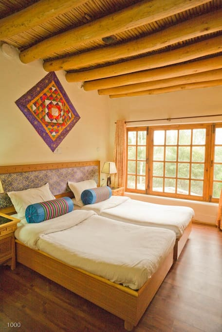 Doubled bedded Standard size room, main Cloud House