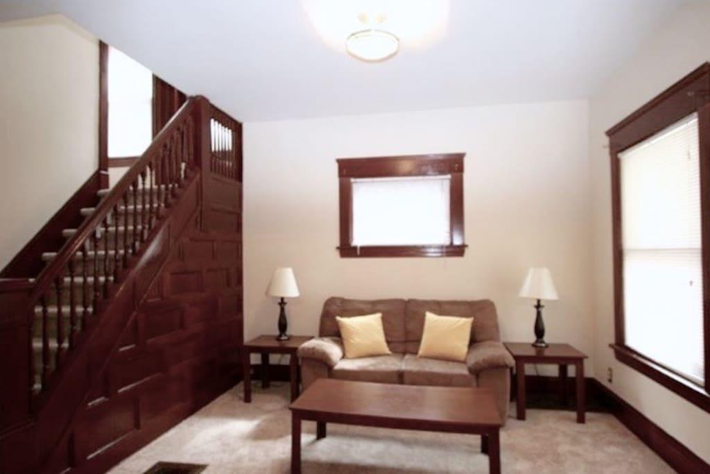 Entryway/living room #1