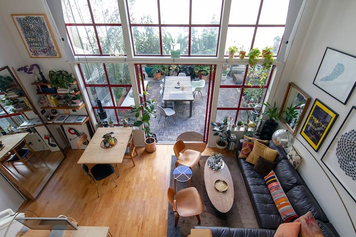 Loft tucked away in the heart of SF