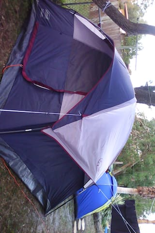 Happy Camper Tent Rental Available Cheap
