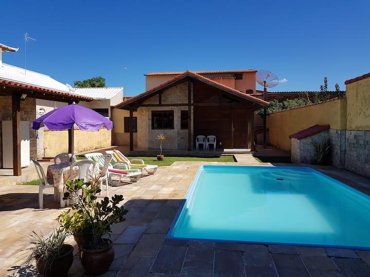 Casa com Piscina, Praia de Jaconé - Saquarema