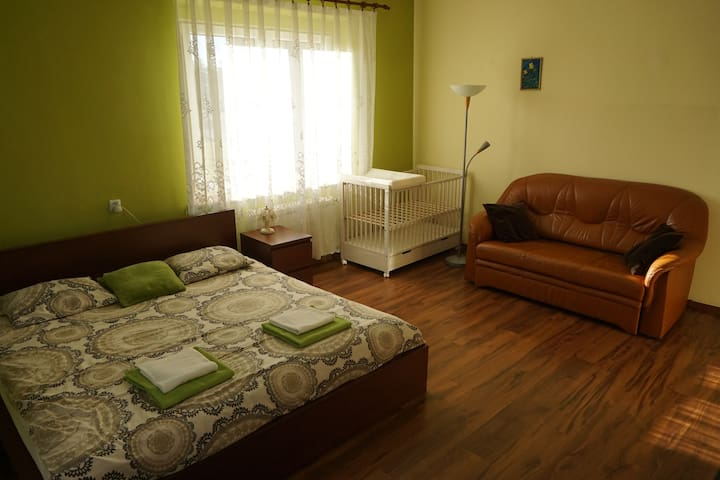Peaceful place near the forest - bikes included! - Imielin - Apartamento