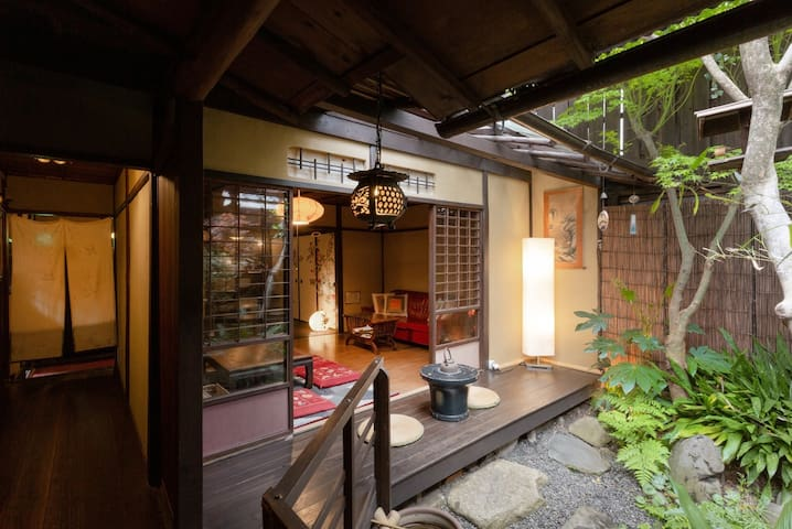【Twin】100 Year old Machiya Guest House close to Heian Shrine in Kyoto (up to 3 people/16㎡) 京都 平安神宮近く。築100年の町家ゲストハウス和楽庵