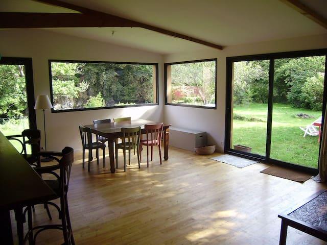 Maison extension bois sur la rivière du Trieux - Plouëc-du-Trieux - Casa